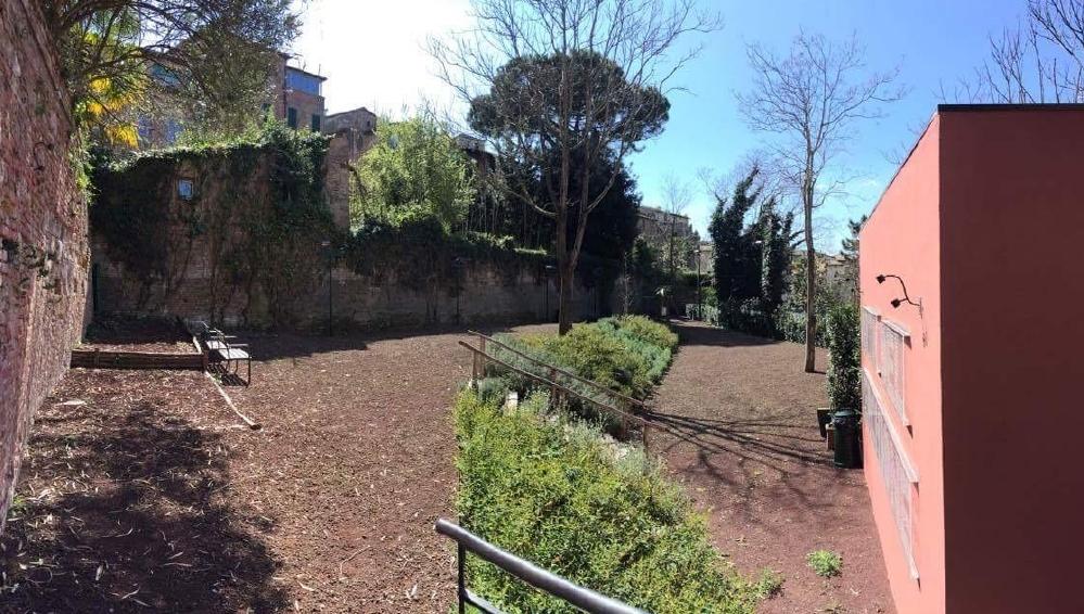 """L'orto del Verchione diventa un """"Giardino d'artista"""" con il progetto della contrada dell'Aquila"""