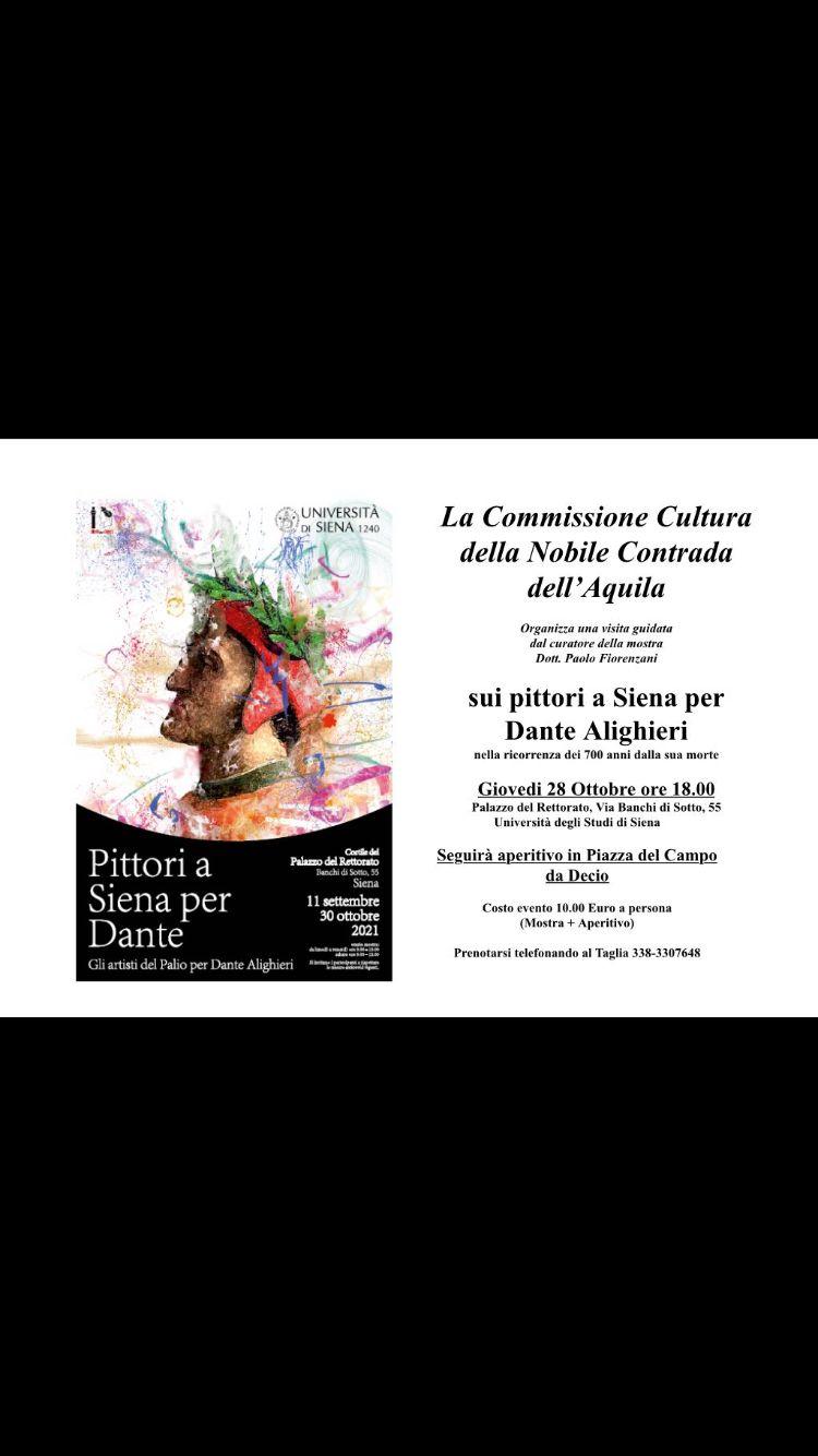 Pittori a Siena per Dante