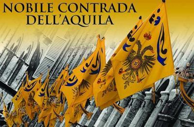La Nobile Contrada dell'Aquila alla città di Siena